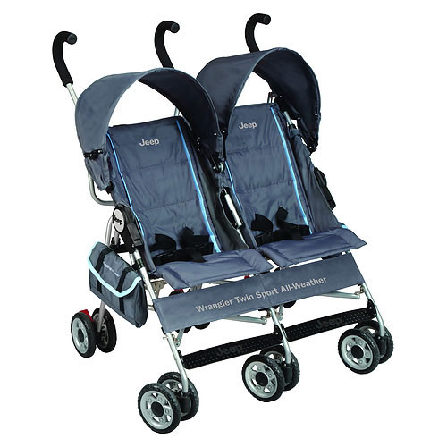 Детская коляска-трость для близнецов Jeep