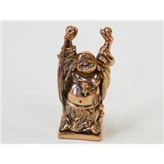 Статуэтка Хотей с поднятыми руками  (феншуй).