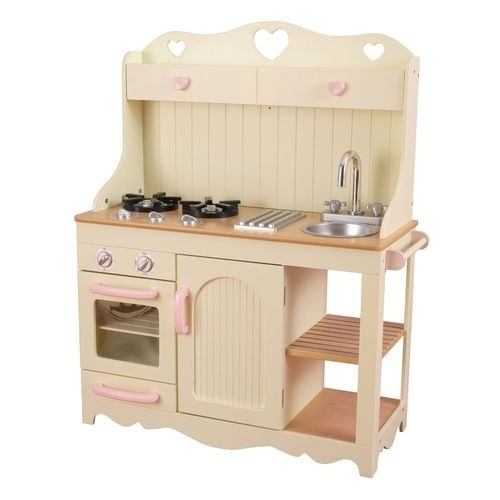 Детская игрушечная кухня из дерева Прерия