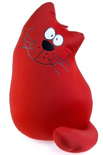 Игрушка-подушка мягкая Кот на счастье