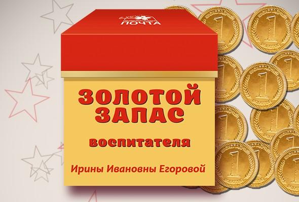 Подарочный набор «Золотой запас воспитателя»