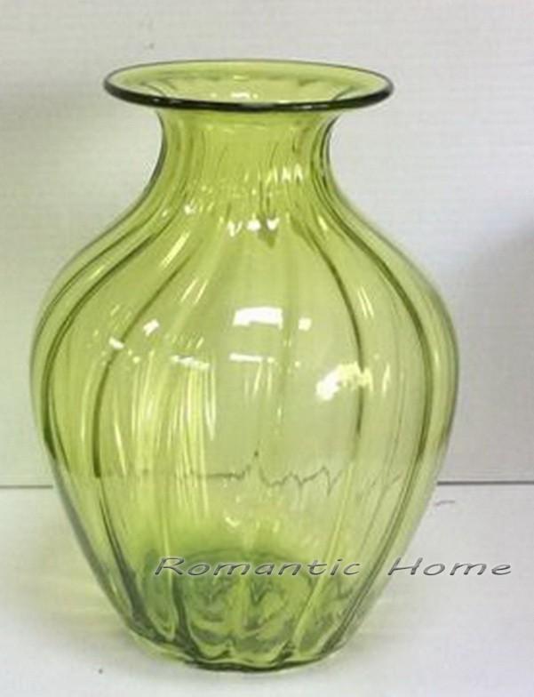 Стеклянная ваза коллекции Green