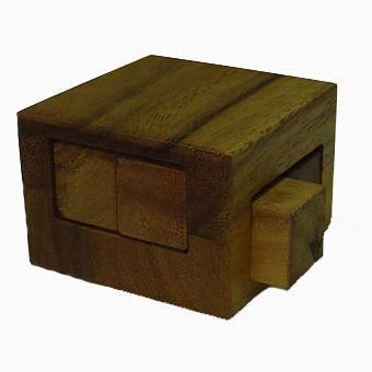 Головоломка «Выдвижной ящик»