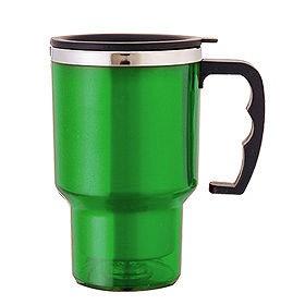 Термокружка, зеленая