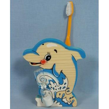 Подставка для зубной щетки «Дельфин»