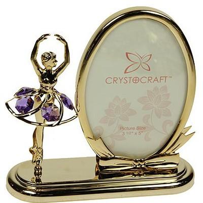 Фоторамка с кристаллами Балерина