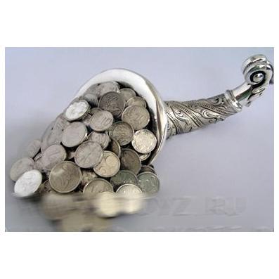 Рог изобилия с деньгами