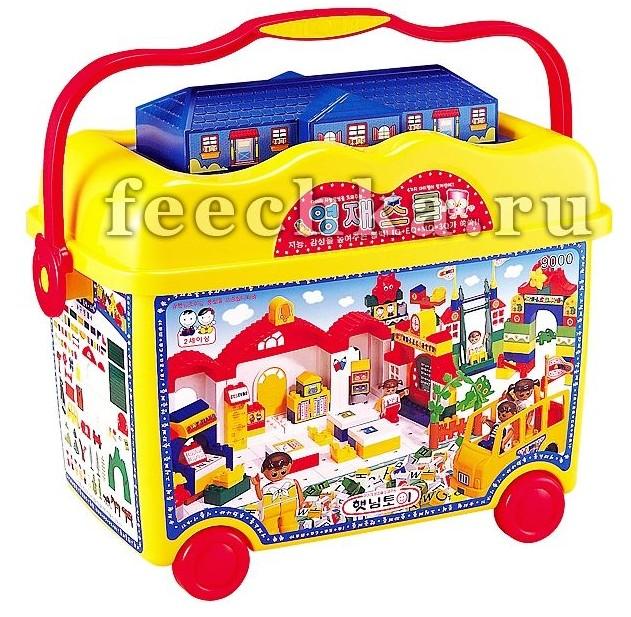 Конструктор в контейнере Школа гениев, Haenim toy