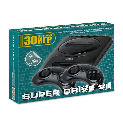 Приставка Sega Mega Drive 7 + 30 игр