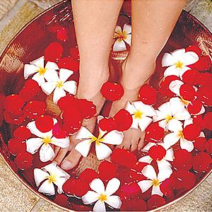 «Тайский массаж ног»