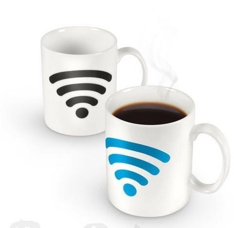 Кружка-хамелеон Wi-Fi Hot Spot