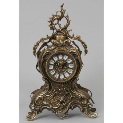 Часы настольные из бронзы «С завитком» Virtus