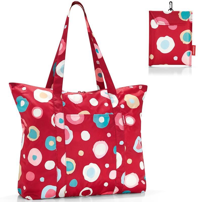 Дорожная складная сумка Mini maxi travel funky dots 2