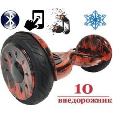 Зимний гироскутер Smart Balance Premium Galant Огонь