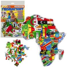 Магнитный гео-пазл «Африка»