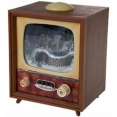 Светящееся и музыкальное украшение Телевизор