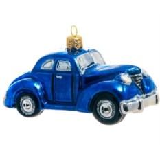 Ёлочная игрушка Синий авто