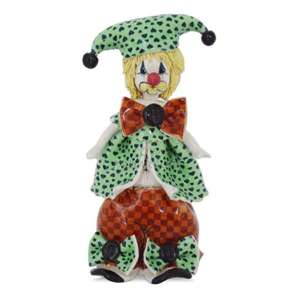 Статуэтка Клоун в зелёном