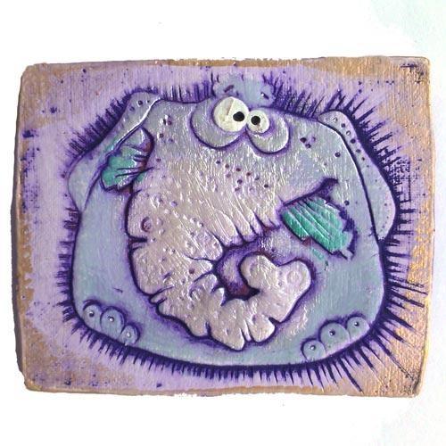 Магнит керамический Слон