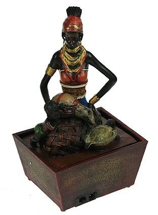 Декоративный фонтан Африканка