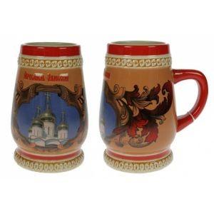 Пивная коллекционная кружка Переславль-Залесский