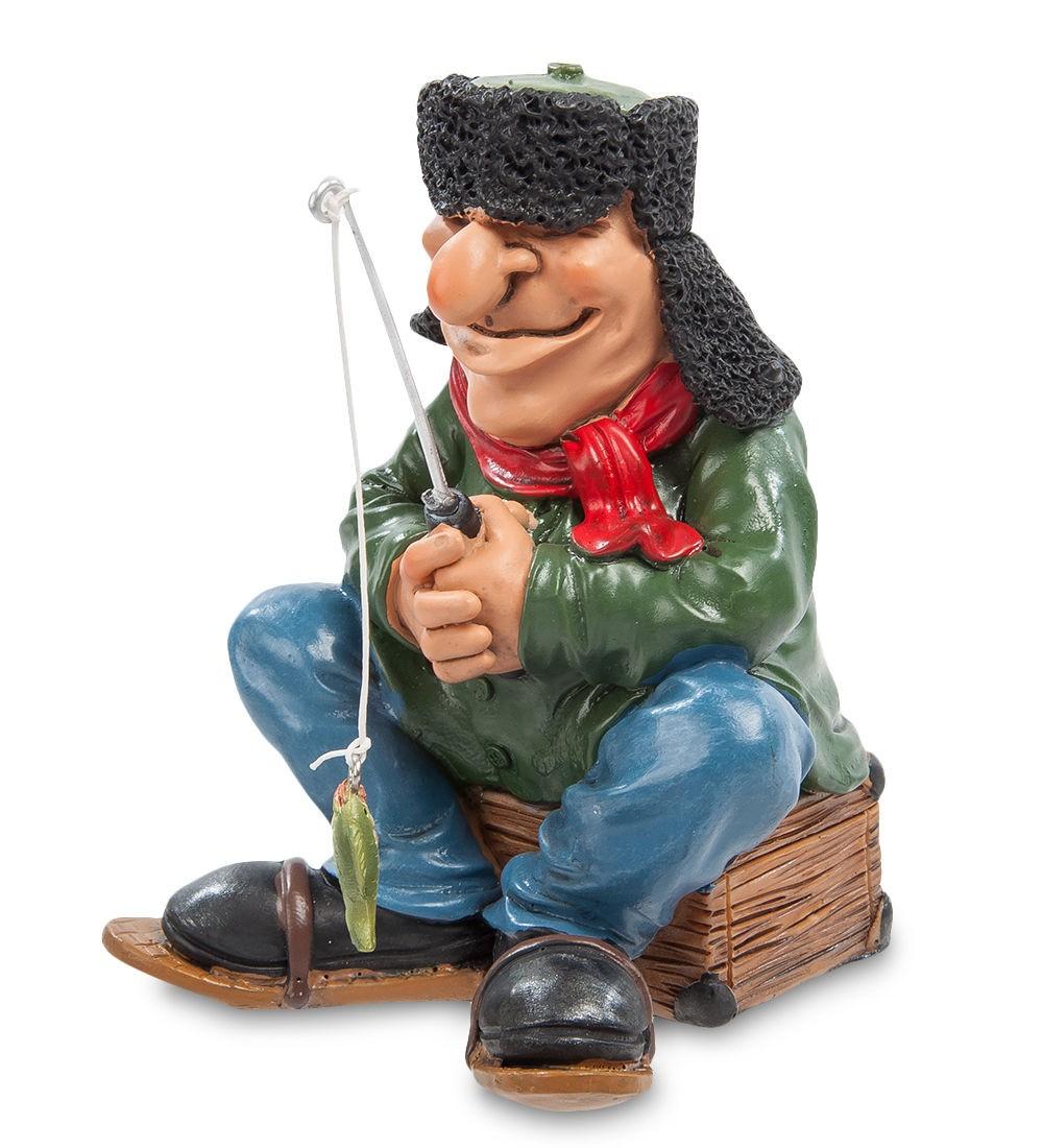 Статуэтка Рыбак зимник
