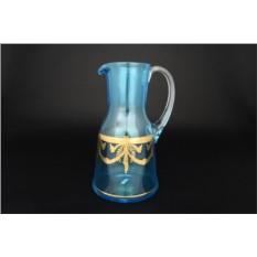 Стеклянный графин (цвет — синий)