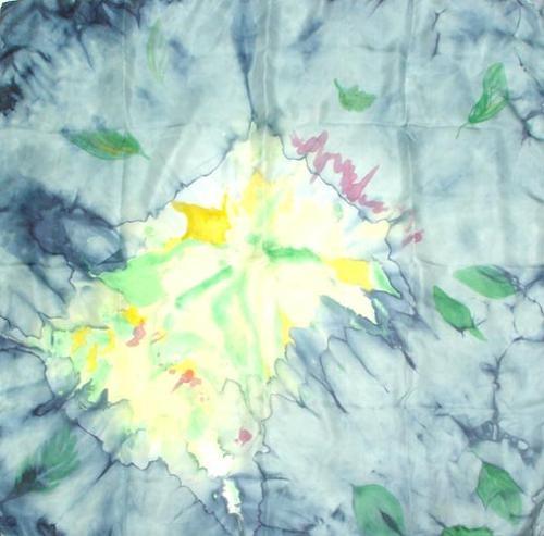 Платок шёлковый Гроза