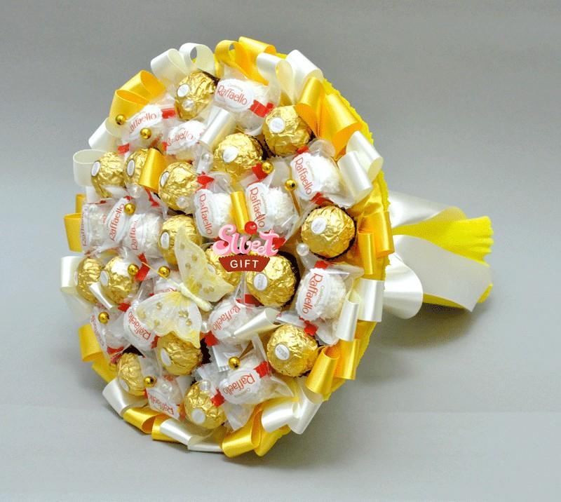 Подарок из конфет своими руками на день рождения фото 335