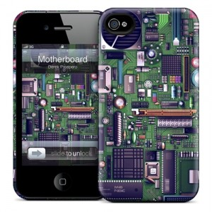 Чехол для iPhone 4/4S Gelaskins Motherboard