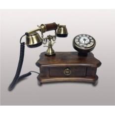 Кнопочный ретро-телефон Kit из дерева