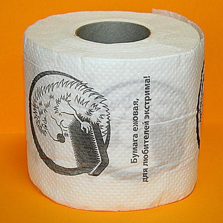 Туалетная бумага «Ежовая»
