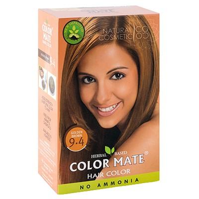 Натуральная краска для волос с хной (золотисто-коричневая)