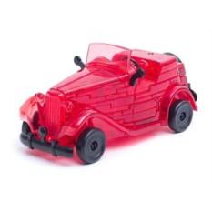 3D головоломка Красный автомобиль