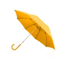 Зонт с полупрозрачной ручкой и с большим куполом