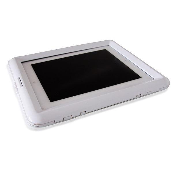 Белый водонепроницаемый чехол для iPad