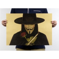 Плакат V for Vendetta