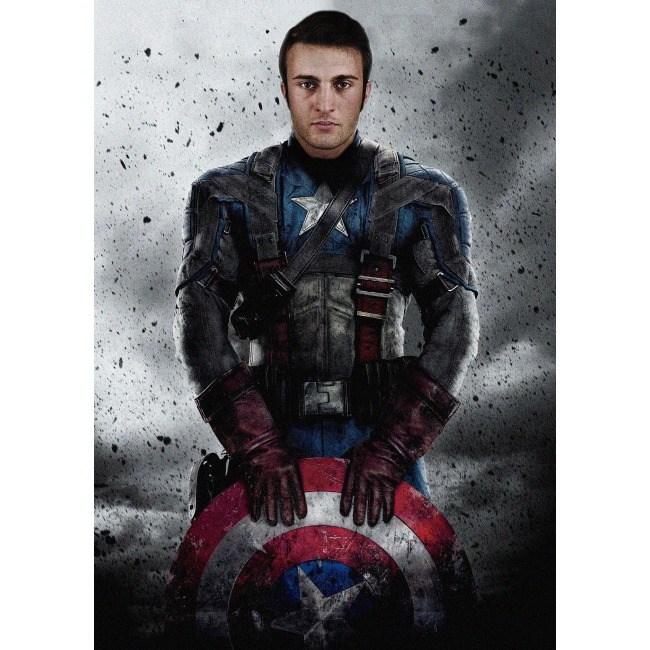 Фотопортрет Вписка в супергероя