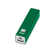 Зеленое портативное зарядное устройство Спейс на 3000 mAh