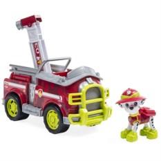 Игровой набор Paw Patrol Машина спасателя со щенком Маршал