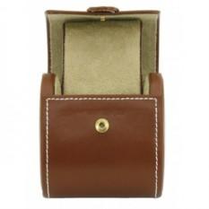 Светло-коричневый кожаный футляр для 1 часов Cordoba