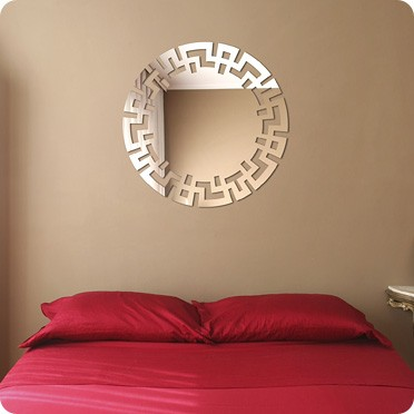 Фигурное зеркало Цепочка в египетском стиле