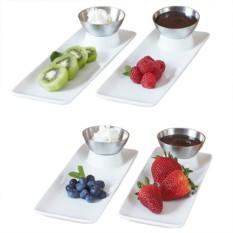 Набор сервировочный из 4 блюд и соусниц Starter