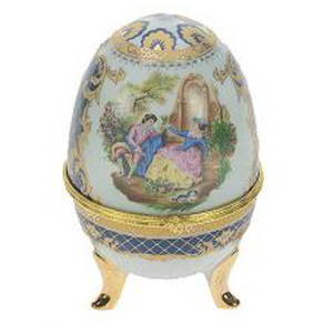 Фигурка декоративная Пасхальное яйцо 15см