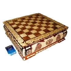 Шахматы резные Ларец XL