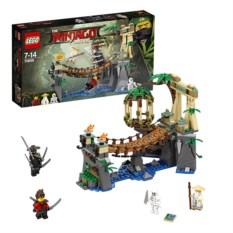 Конструктор Lego Ninjago Битва Гармадона и Мастера Ву