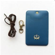 Синий держатель для карточки-пропуска Triangle Humming
