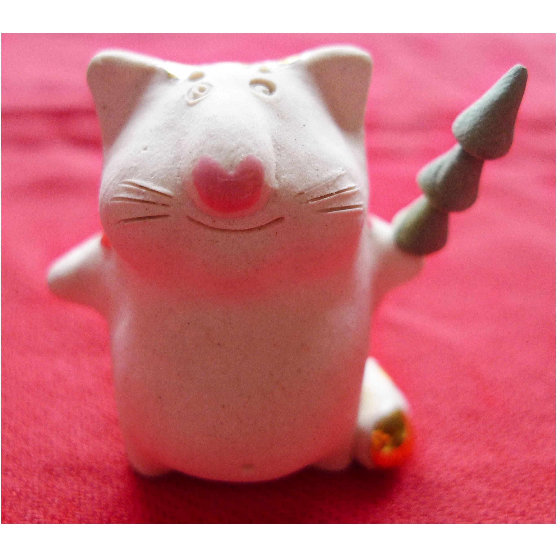 Фигурка «Фарфоровый кот»