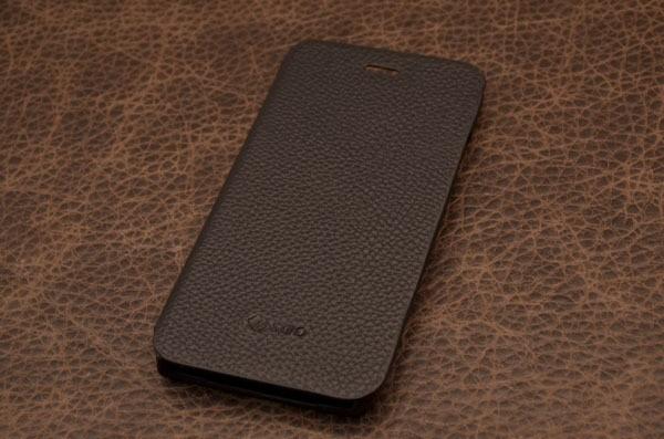 Кожаный чехол для iPhone 6 «Тень Броуд-Пика» (черный, личи)