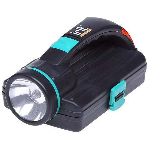 Набор инструментов в кейсе с аварийным фонарем «Помощник»